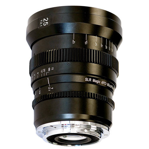 25mm T/2.1 APO-MicroPrime Cine Lens for EF Mount
