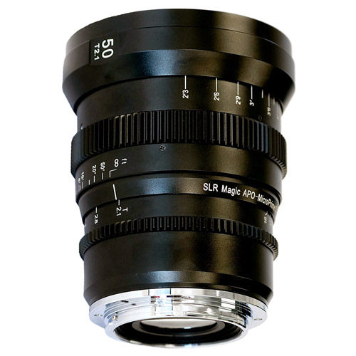 50mm T/2.1 APO-MicroPrime Cine Lens for EF Mount