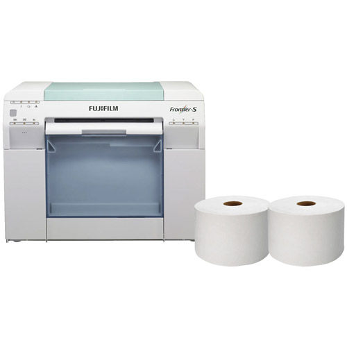 Frontier-S DX100 Printer Package w/ Free 6x213 Inkjet Paper Lustre