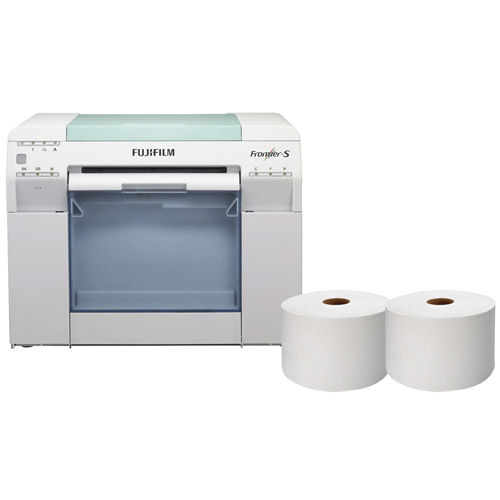 Frontier-S DX100 Printer Package w/ Free 4x213 Inkjet Paper Lustre
