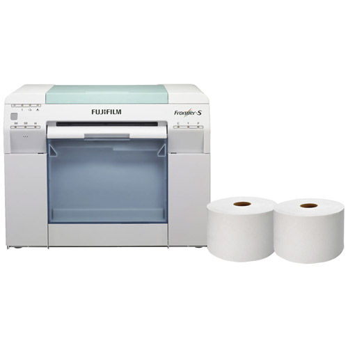 Frontier-S DX100 Printer Package w/ Free 6x213 Inkjet Paper Glossy