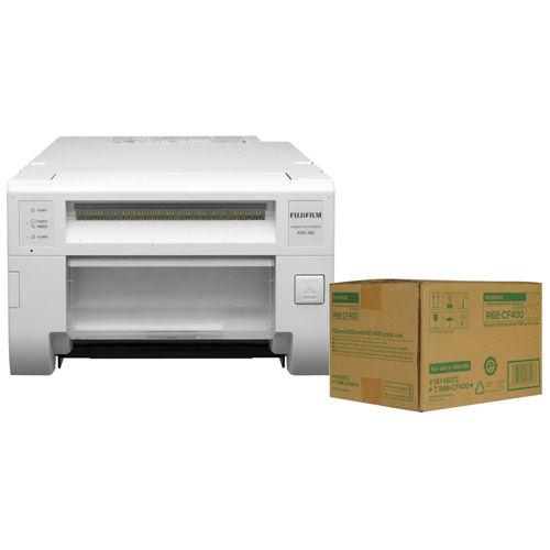 ASK300 Colour Dye Sub Photo Printer w/Free 6x8 Media (400 Prints)
