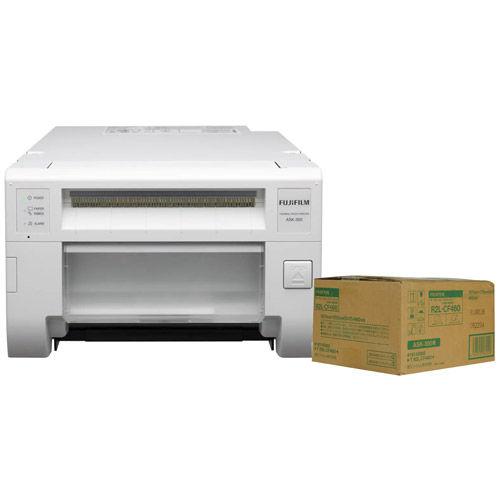 ASK300 Colour Dye Sub Photo Printer w/Free 5x7 Media (460 Prints)