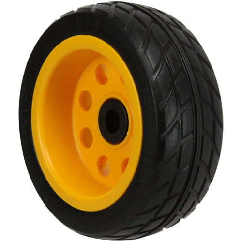 """MultiCart R-Trac Ground Glider Rear Wheel w/ Offset Hub For Select Carts (8x3"""", Pair)"""