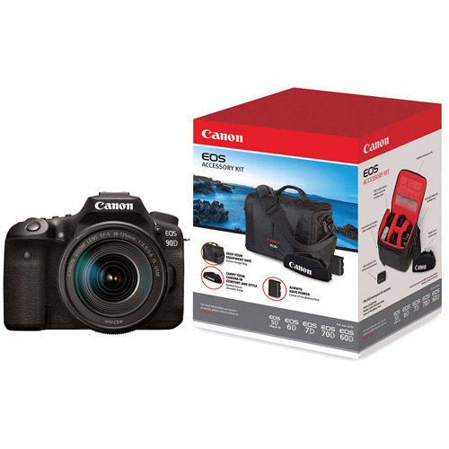 EOS 90D Body With Advanced Accessory Kit