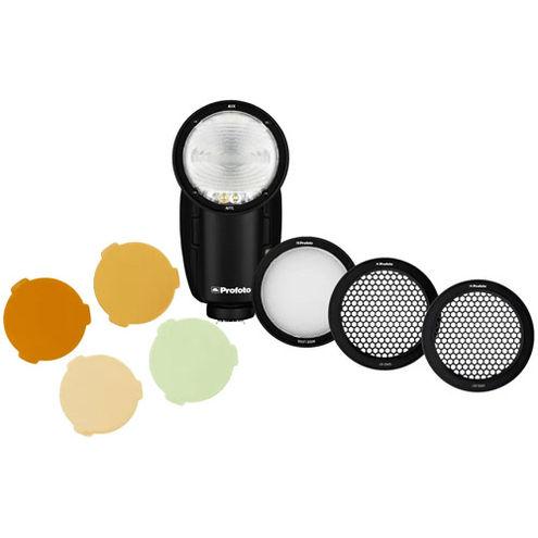 A1X AirTTL-FujiFilm w/ PROMO Wide Lens, Gel Kit And Grid Kit