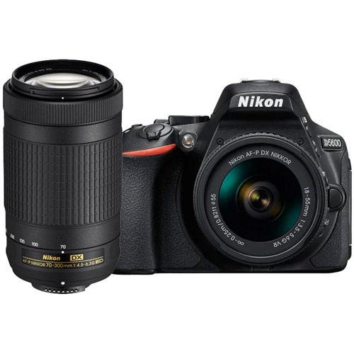 D5600 Kit w/ AF-P DX NIKKOR 18-55mm VR & AF-P DX NIKKOR 70-300mm non-VR Lenses