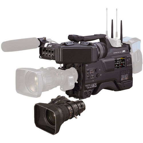 """GY-HC900F20 CONNECTED CAM 2/3"""" Broadcast ENG Camcorder Pack  w/ Fujinon eXceed 20x Standard Ext"""