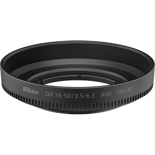 HN-40 Screw-On Lens Hood for NIKKOR Z DX 16-50mm f/3.5-6.3 VR