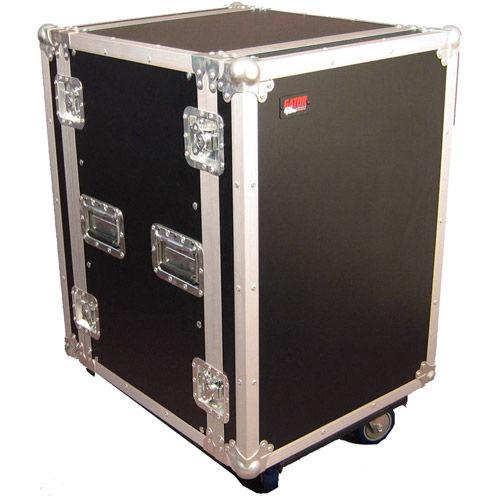 G-Tour 16U Cast Tour Style ATA Flight Rack Case with Casters