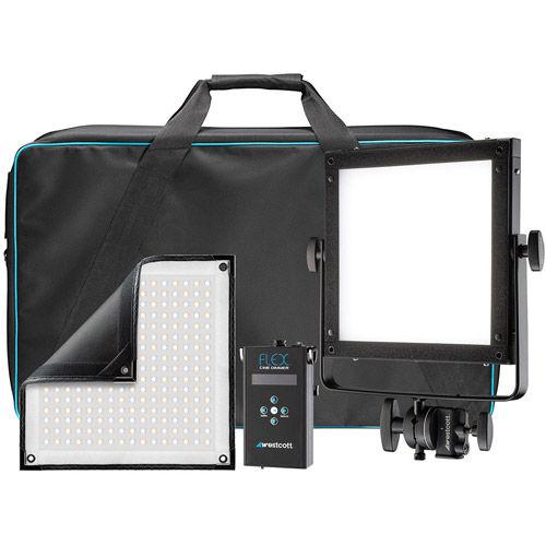 Flex Cine Bi-Color 1-Light Gear Kit (1 x 1')