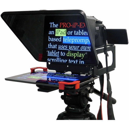 PROIPEX Universal Smartphone, Tablet, Ipad Teleprompter - w/Free Oncue Remote