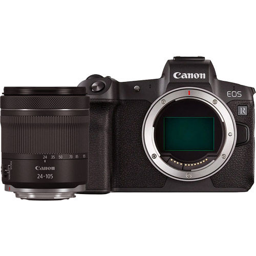 EOS R Full Frame Mirrorless Kit w/RF 24-105 STM Lens