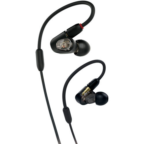 ATH-E50 In-ear Monitor Headphones w/ Flexible Memory Cable
