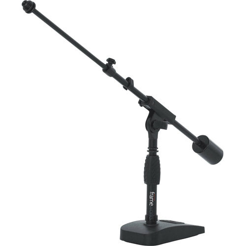 Bass Drum, Amp and Desktop Mic Stand with Boom