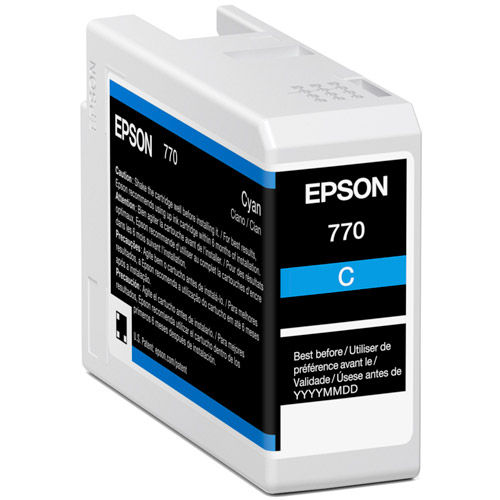 T770220 Cyan Ink Cartridge 25 ml for P700