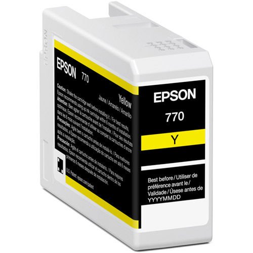 T770420 Yellow Ink Cartridge 25 ml for P700