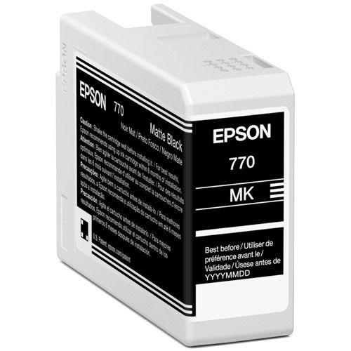 T770820 Matte Black Ink Cartridge 25 ml for P700
