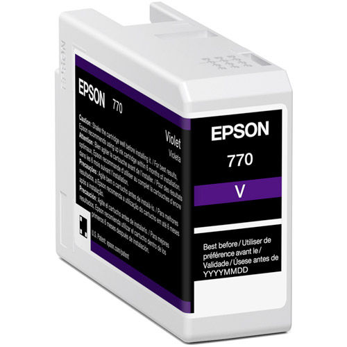 T770020 Violet Ink Cartridge 25 ml for P700
