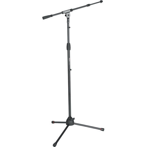 Tripod Microphone Stand w/ Telescoping Boom  and Twist Clutch