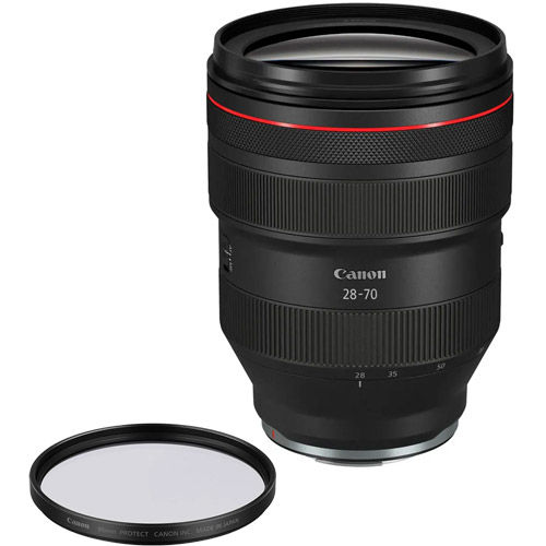 RF 28-70mm f2 L USM Lens With 95 Filter Protect