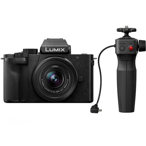 Lumix G100 Kit w/ Lumix G Vario 12-32mm f/3.5-5.6 ASPH Mega OIS Lens and Tripod Grip