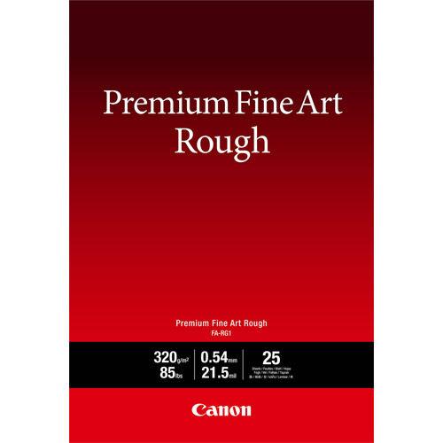 """13"""" x 19"""" Premium Fine Art Rough Photo Paper 25 Sheets"""