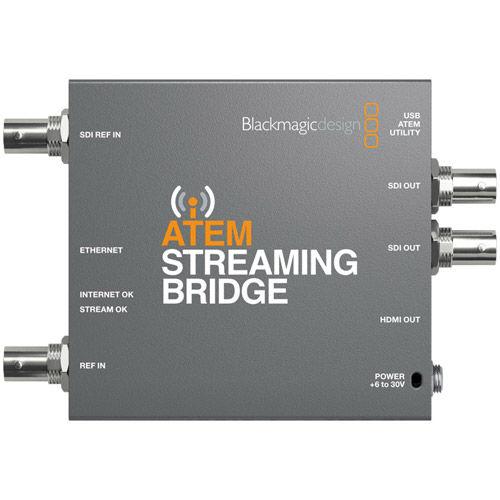 ATEM Streaming Bridge for ATEM Mini Pro Streaming Switchers
