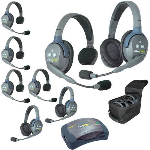 HUB853 UltraLITE 8-Person HUB Intercom System (USA)