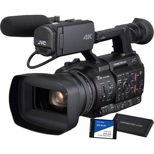 GY-HC500U Connected Camera 1- inch Camcorder Bundle w/Free SSD Media Adapt. & 1TB SSD