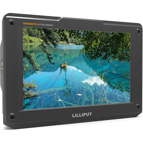 "H7 7"" Ultra Bright Camera Top Monitor 4K"