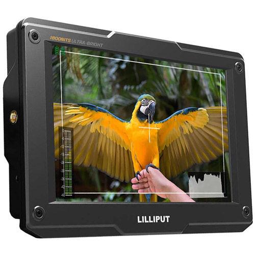 "H7S 7"" Ultra Bright Camera Top Monitor 4K"