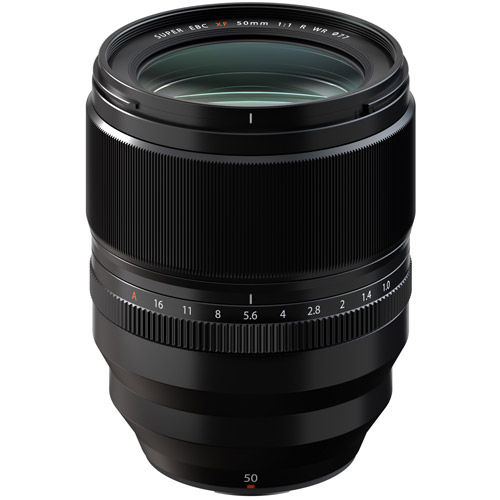 Image of Fujifilm Fujinon XF 50mm f/1.0 R WR Lens