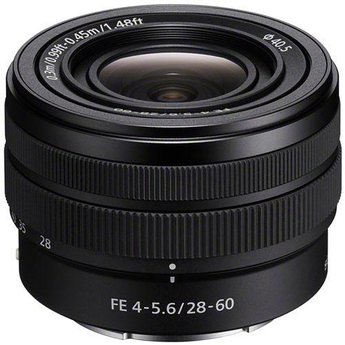 SEL FE 28-60mm f/4.0-5.6 E-Mount Lens
