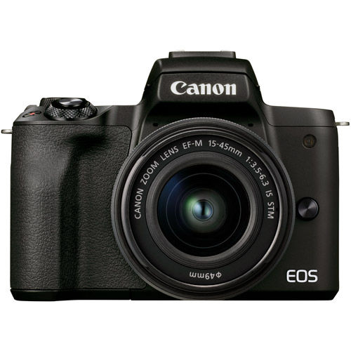 EOS M50 Mark II with EF-M 15-45mm IS STM Lens