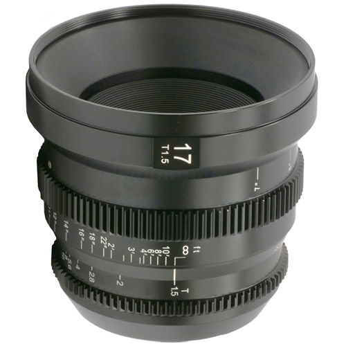 17mm T/1.5 MicroPrime Cine Lens for mFT Mount