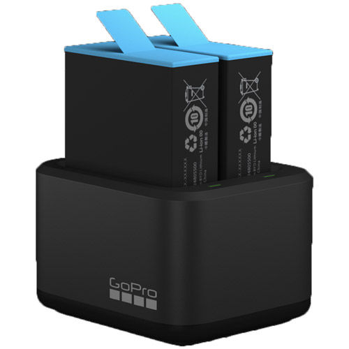 Dual Battery Charger + Battery (HERO10/9 BLACK)