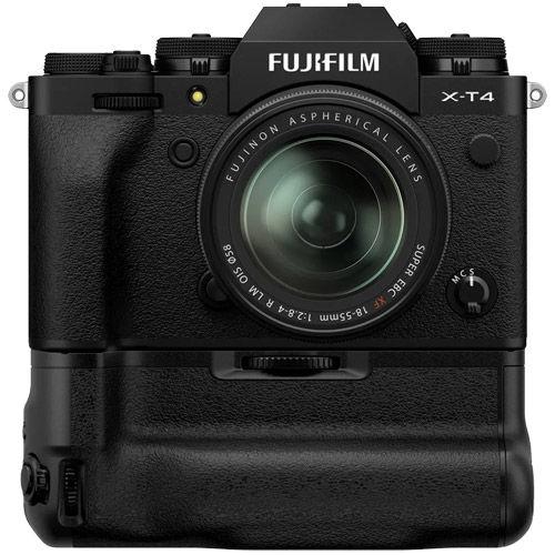 X-T4 Mirrorless Kit Black w/ XF 18-55mm f/2.8-4.0 R LM OIS Lens & VG-XT4 Grip
