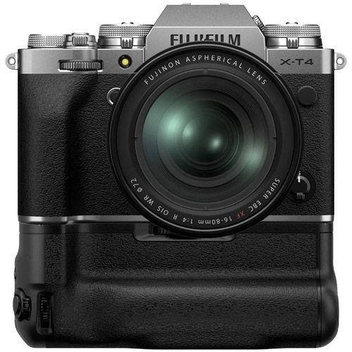 X-T4 Mirrorless Kit Silver w/ XF 16-80mm f/4 R OIS WR Lens & VG-XT4 Grip