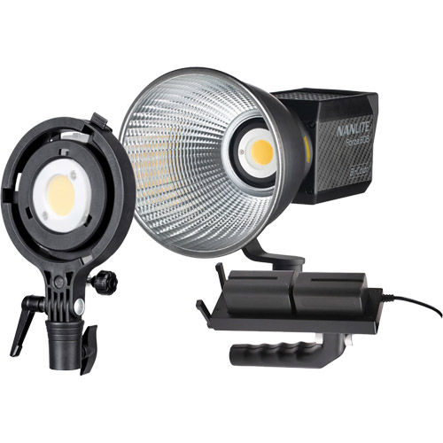 Forza 60B LED Light B-Color 60W w/AC, Reflector w/Battery Handle & Adapter