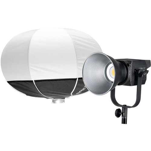 Forza 200 LED Light 200W incl AC, Cable, Reflector w/ Lantern Softbox 60