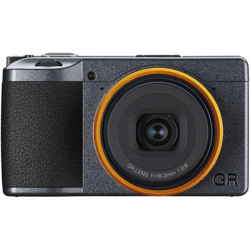 Image of Pentax Ricoh GR III Street Edition Body (inc. additional DB-110 battery & Yellow-Orange Lens Ring)