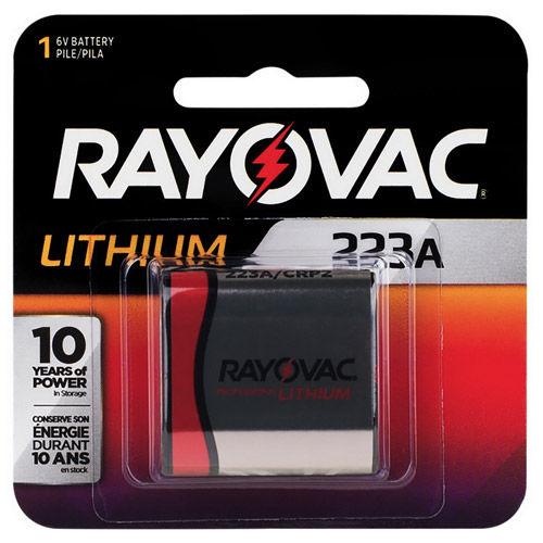 Lithium 223A Battery, 6V (CR-P2)