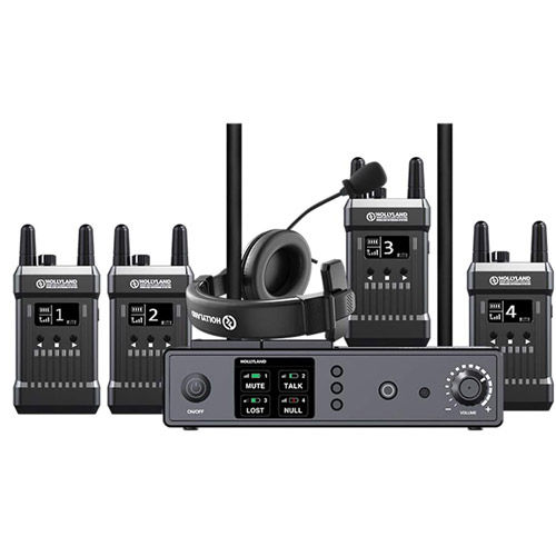 T1000 Full Duplex Wireless Intercom System