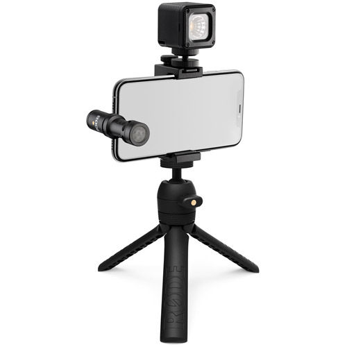 USB-C Vlogger Kit Includes VideoMic Me-C, Tripod 2 , Smart Grip, MicroLED Light and Accessories
