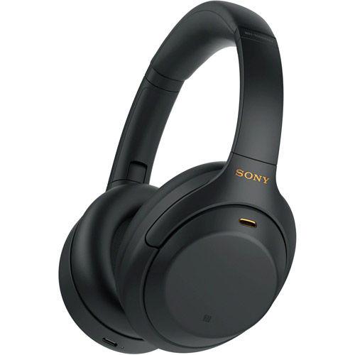 Image of Sony Wireless Noise-Canceling Over-Ear Headphones (Black)