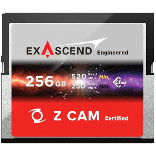 Exascend CFast 2.0 Memory Card 256GB