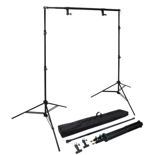223K Background Paper Stand Set w/Carring Bag, Spring Clamps