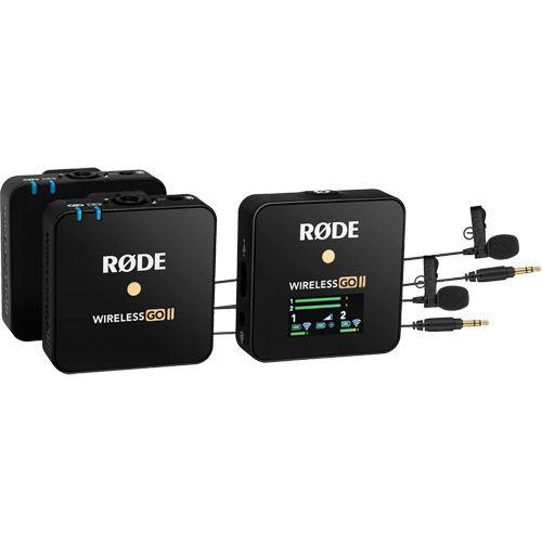 WIRELESS GO II Wireless Microphone System Kit w/ 2 Omnidirectional Lavalier GO Microphones