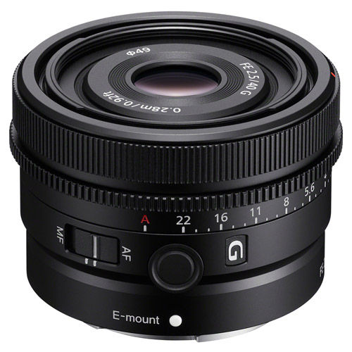 SEL FE 40mm f/2.5 G E-Mount Lens